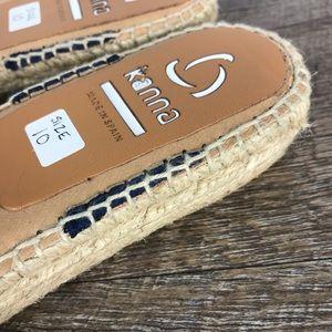 kanna Shoes - Kanna espadrille mules slides blue sz 10